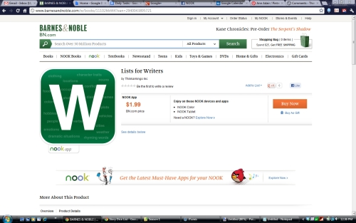 NOOK Store screenshot