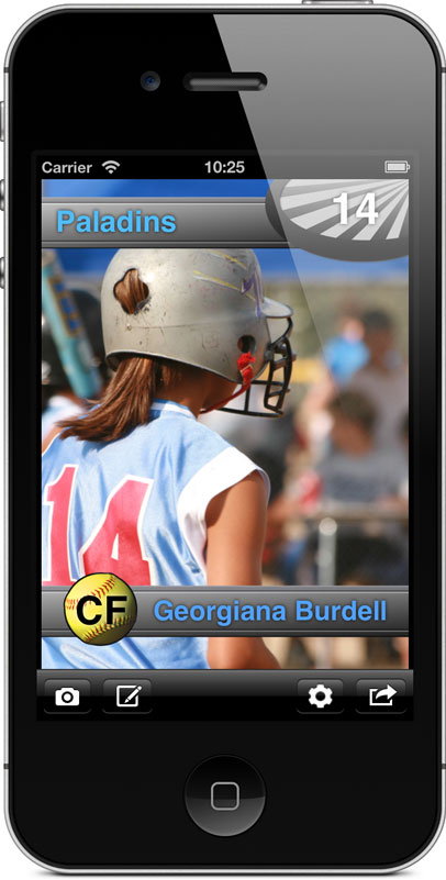 Softball Card Pro Screenshot