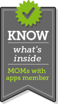 Know what's inside - Moms with Apps Member