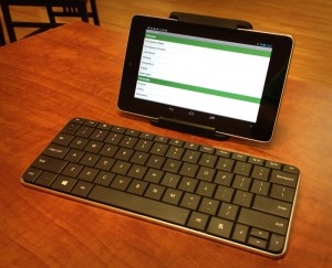 Nexus 7 with keyboard